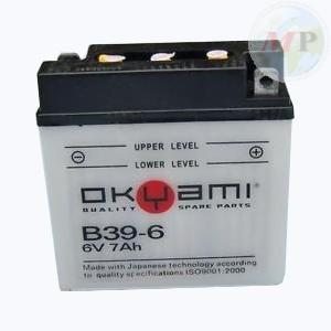 E07311 OKYAMI BATTERIA B39-6 STD/CONV. 6V