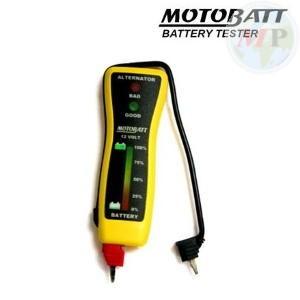 C700100 MOTOBATT TESTER BATTERIE MINI A LED