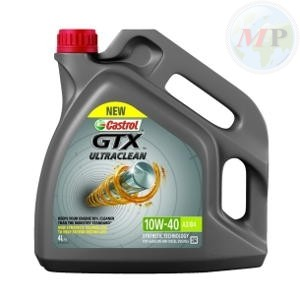 CA15A4D3 CASTROL GTX ULTRACLEAN 10W-40 A3/B4 4LT
