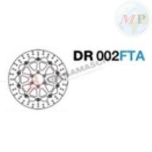 DR002FTA GRIMECA DISCO FRENO DUCATI 748/996 ANT.; GUZZI BREVA/GRISO/NORGE ANT.