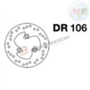DR106 GRIMECA DISCO FRENO MBK BOOSTER NG 50 ANT; YAMAHA AEROX 50 ANT/POST.