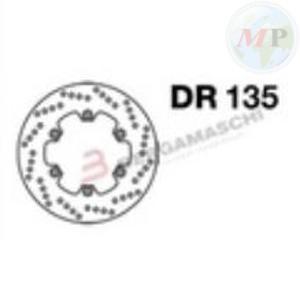 DR135 GRIMECA DISCO FRENO YAMAHA MAJESTY 250 ANT.