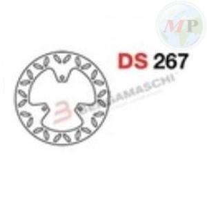 DS267 GRIMECA DISCO FRENO SP YAMAHA MAJESTY 250 POST.