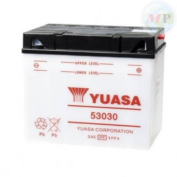 E01173 BATTERIA YUASA 53030 CON ACIDO