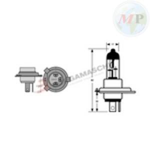 E034190 RIATEC LAMPADA HS1 12V 35/35W ALOGENA PX43T