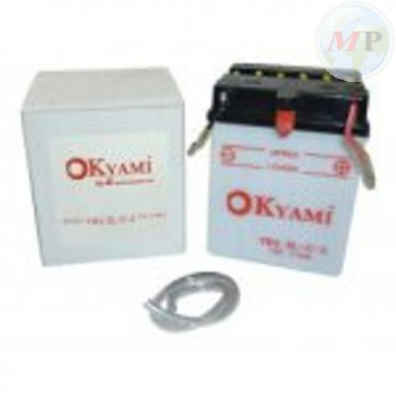 E07003 OKYAMI BATTERIA YB2,5L-C2 STD/CONV. 6V