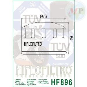 E1789600 HIFLO FILTRO OLIO URAL 750