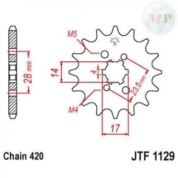 A50112913 PIGNONE JT 1129 z13
