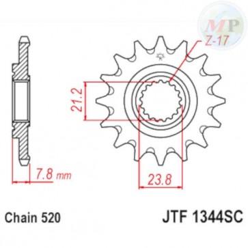 A50134413 PIGNONE JT 1344 z13 SC