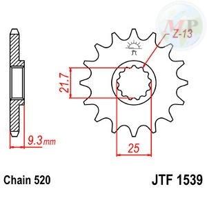 A55153914 PIGNONE JT 1539 z14RB AMMORTIZZATO