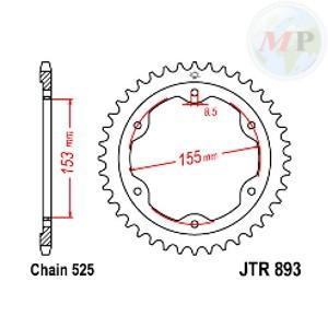 A56089338 CORONA JT 893 z38ZBK