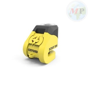 Y6000260-2 OXFORD LUCCHETTO SCOOT XD5 PIN 6MM GIALLO