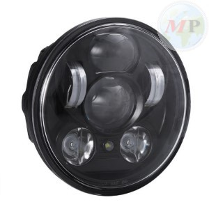 "MPAT360575PBS Daymaker Fanale 5.75"" a LED Anteriore con parking Light per Harley-Davidson Softail, Dyna e Sportster"