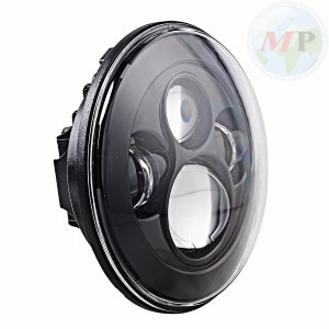 """MPAT360700BS Daymaker Fanale 7"""" a LED Anteriore per Harley-Davidson Touring, Street Glide, Ultra Classic"""