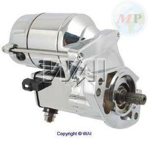 V835300120 WAI MOTORINO AVVIAMENTO HARLEY-DAVIDSON 1340/1450 1.4 KW CROMATO