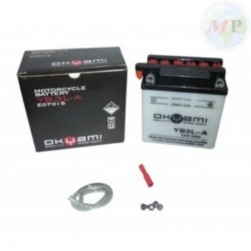 E07015 OKYAMI BATTERIA YB3L-A STD/CONV. 12V