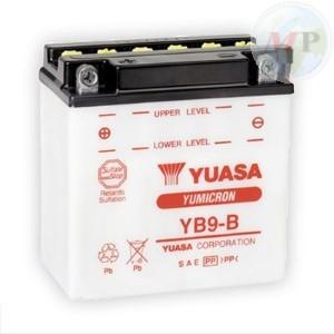 E01121 BATTERIA YUASA YB9-B