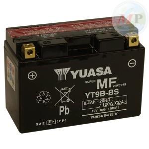 E01135 BATTERIA YUASA YT9B-BS C/ACIDO