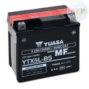 E01155 BATTERIA YUASA YTX5L-BS C/ACIDO