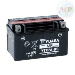 E01156 BATTERIA YUASA YTX7A-BS C/ACIDO