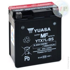 E01157 BATTERIA YUASA YTX7L-BS C/ACIDO