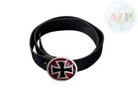 01-342 Belt + Buckle Gothic Cross