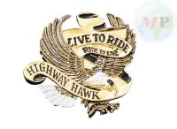 01-560 Emblem Live To Ride Small