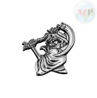 05-320 Emblem with Nut Grim Reaper