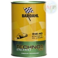 309040 BARDAHL TECHNOS C60 EXCEED 5W-40 24X1L