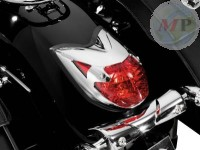 662-117 Taillight Cover Chrome ABS