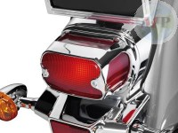 Taillight Cover Chrome ABS