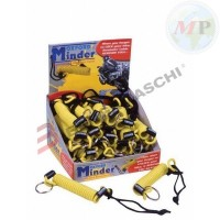 C6000390 OXFORD CAVO MINDER X BLOCCADISCO GIALLO