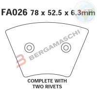 R1202600 EBC PASTIGLIE HARLEY-DAVIDSON FX-XL