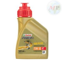 CA153C52 CASTROL POWER 1 4T 15W-50 0.5L