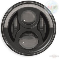 "CC619521 Speaker LED Insert 7"" with position light Black with E-mark"