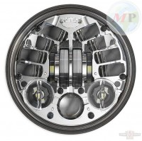 "CC890442 JW Speaker 8690M LED Standard 5 3/4"" Chrome"