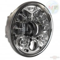 "CC890444 JW Speaker 8690A LED Adaptive 5 3/4"" Chrome"