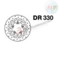 DR330 GRIMECA DISCO FRENO KYMCO PEOPLE/S 250 ANT. SX