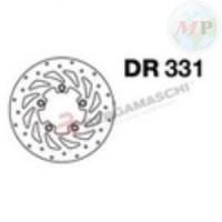 DR331 GRIMECA DISCO FRENO KYMCO PEOPLE/S 250 ANT. DX E POST.