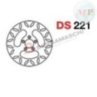 DS221 GRIMECA DISCO FRENO SP HARLEY-DAVIDSON XL 1200/883 ANT./POST.