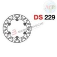 DS229 GRIMECA DISCO FRENO SP HONDA SH300I ANT/POST.- SILVERWING 400/600