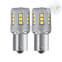 BLISTER 2 LAMPADE OSRAM LED 12V BA15S ROSSA RETROFIT