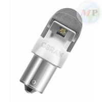 BLISTER 2 LAMPADE OSRAM LED 12V BA15S AMBRA RETROFIT PREMIUM