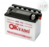 E07002 OKYAMI BATTERIA 6N4-2A STD/CONV. 12V