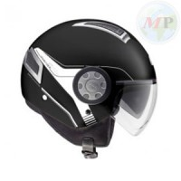 H111BN90054 CASCO AIR JET NERO OPACO GIVI