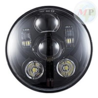 """MPAT360575BS Daymaker Fanale 5.75"""" a LED Anteriore per Harley-Davidson Softail, Dyna e Sportster BLACK"""