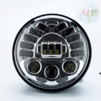 """MPAT360700ABS HLXG Fanale 7"""" a LED con Frecce integrate e  Parking Light per Harley-Davidson Touring, Street Glide, Ultra Classic"""