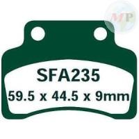 R2323500 EBC PASTIGLIE SFAC KYMCO HEROISM 50/125