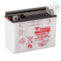 E01171 BATTERIA YUASA Y50-N18L-A C/ACIDO