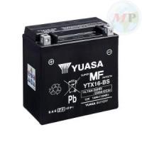 E01146 BATTERIA YUASA YTX16-BS-1 C/ACIDO